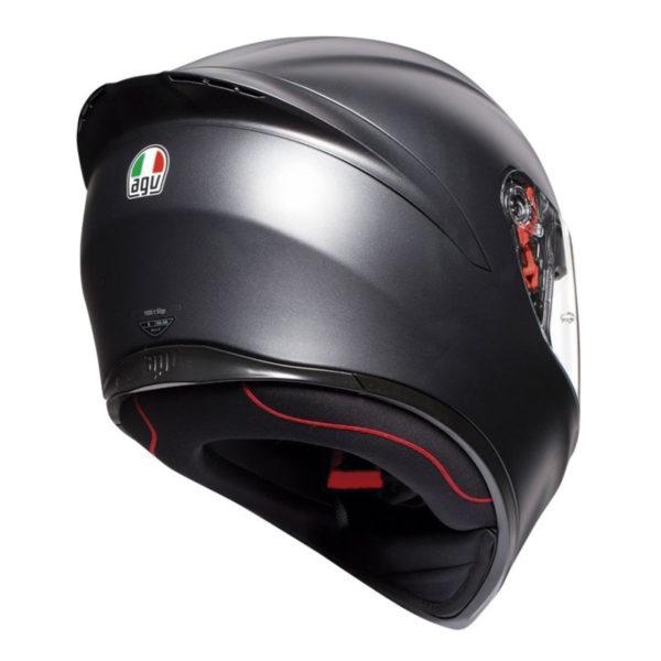 Casco AGV K1 Negro Mate