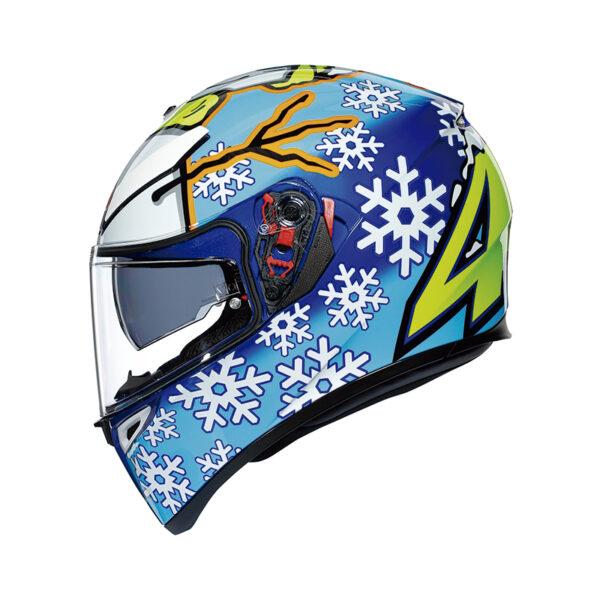 Casco Agv K3 SV Rossi Winter Test 2016