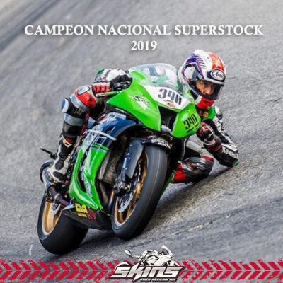 Campeón Nacional Superstock 2019